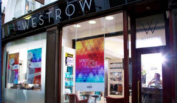 One Of Two Westrow Salons Housed In The Prestigious Thornton S Arcade Heart Leeds City Centre This Bustling Salon Offers A Wide Range Superior
