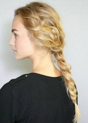 Gym Hair - Braided Pony