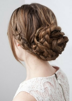 Gym Hair - Braided Bun