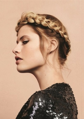 Gym Hair - Braided Halo